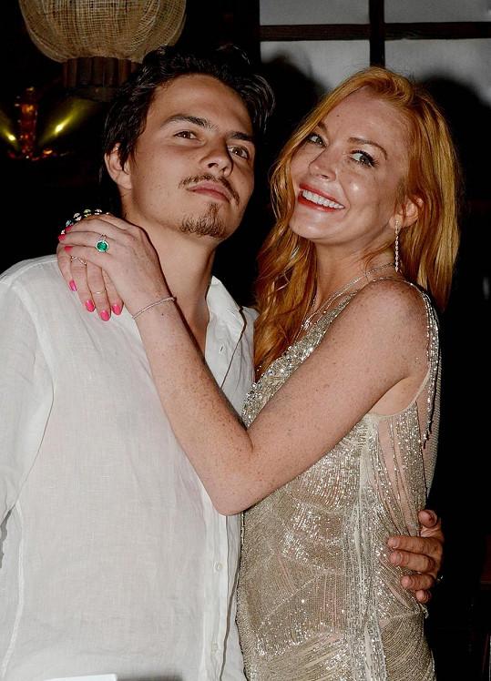 Lindsay Lohan a Egor Tarabasov