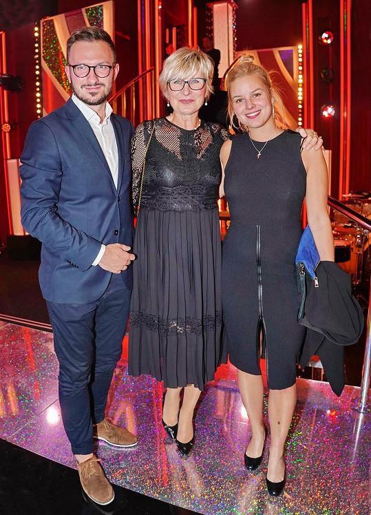 Patricie patří k pravidelným divákům StarDance. Loni vyrazila s maminkou i svým, tehdy, budoucím manželem Tiborem.