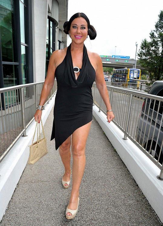 Lisa Appleton zhubla.