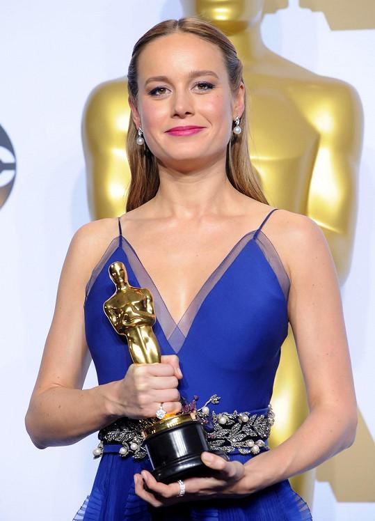 Loni Brie Larson získala Oscara za hlavní roli ve filmu Room.