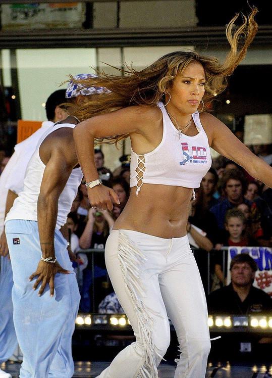 Jennifer Lopez na počátku kariéry