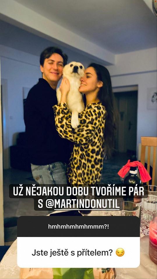 Kráska z Ulice randí s Martinem Donutilem.