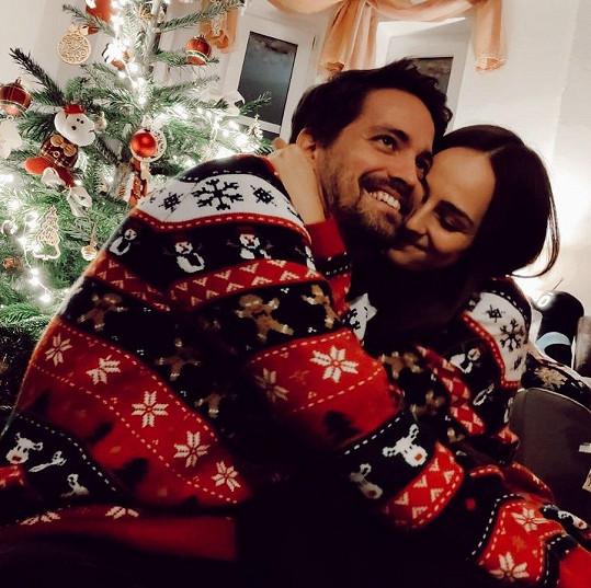 S přítelkyní Andreou oslavili už třetí Vánoce.
