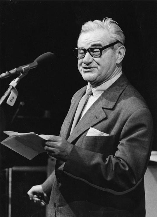 Josef Beyvl byl představitelem osobité a bodré komiky.
