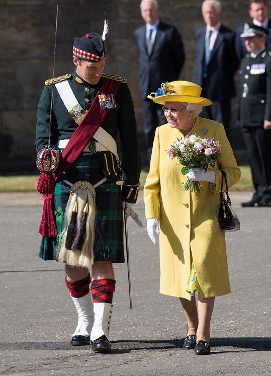 Alžběta II. je opět ve formě.
