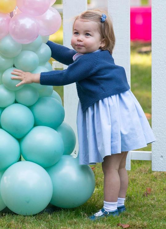 Charlotte už dávno není malá princeznička.