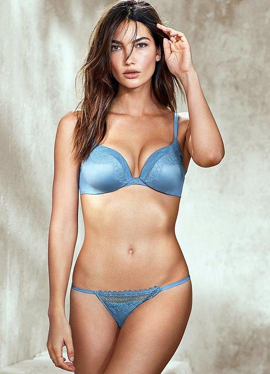 Modelka ve spodním prádle značky Victoria´s Secret