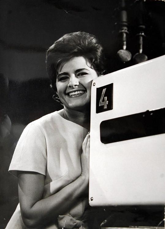 Milena patřila v šedesátých letech k nejpopulárnějším hlasatelkám.