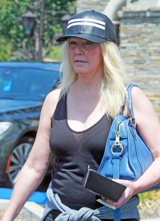 Heather Locklear na snímku z loňského léta