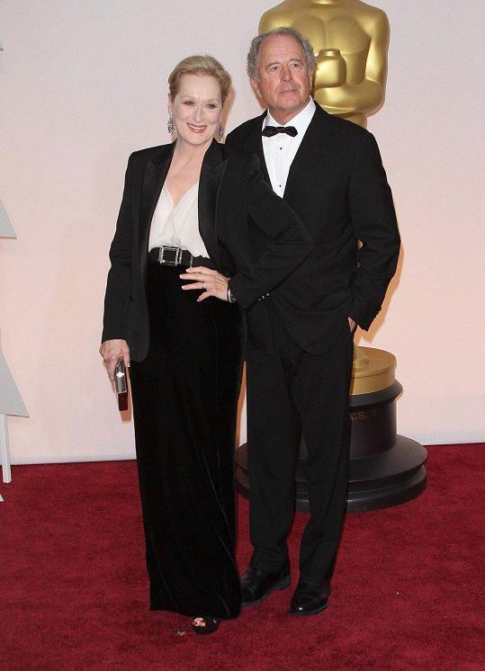 Meryl Streep a Don Gummer - 40 let