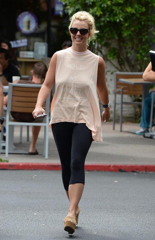 Britney Spears v poslední době módu moc neřeší.