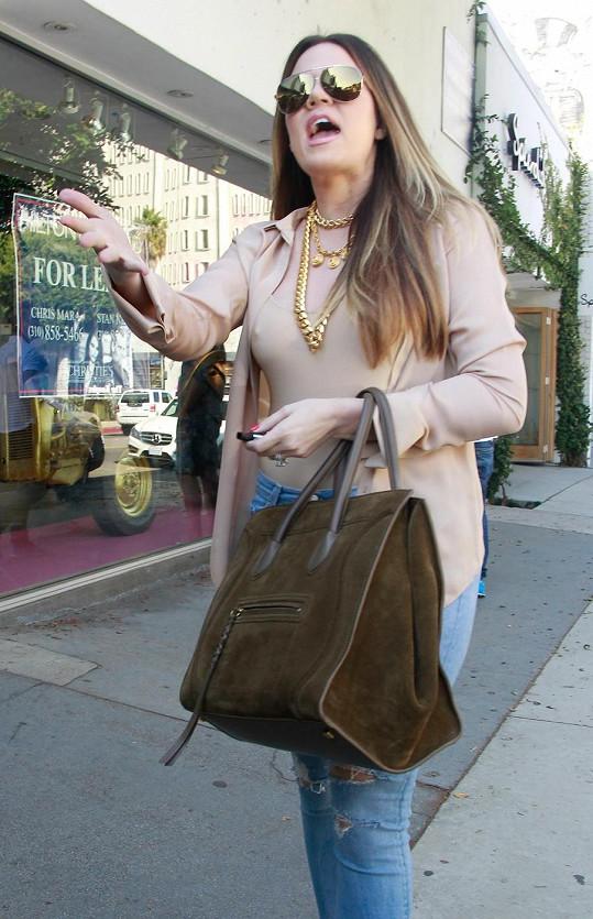 Khloe Kardashian vypadá senzačně.