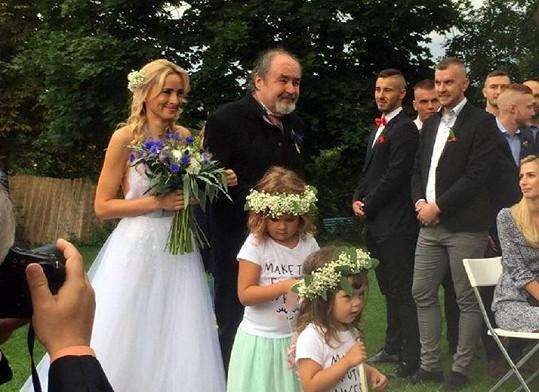 Fotka z nedávné svatby