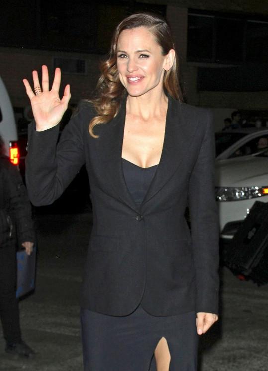 Sympatická herečka vypadá výborně.