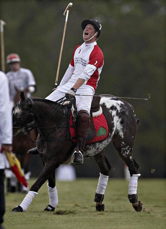Kvůli zraněnému koni byl obviněn z týrání zvířat.