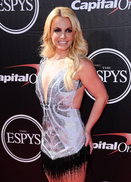 Britney se může pochlubit sexy postavou.