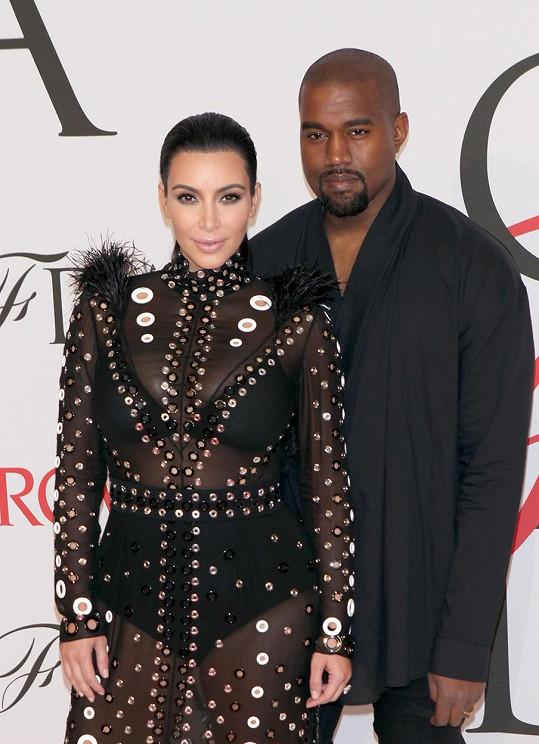 Kanye West s exmanželkou Kim Kardashian