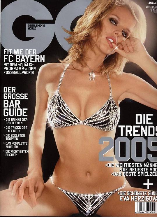 Z Evy Herzigové se v devadesátých letech stala obletovaná celebrita.