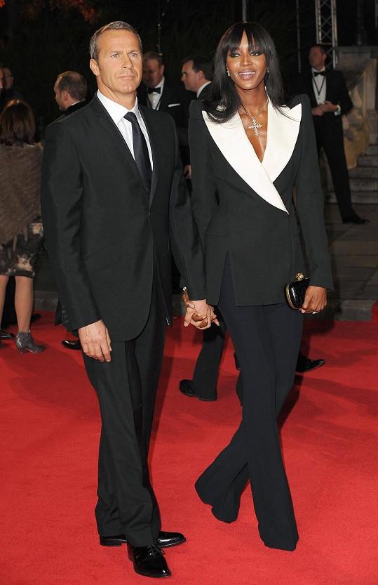 Doronin s bývalou přítelkyní Naomi Campbell