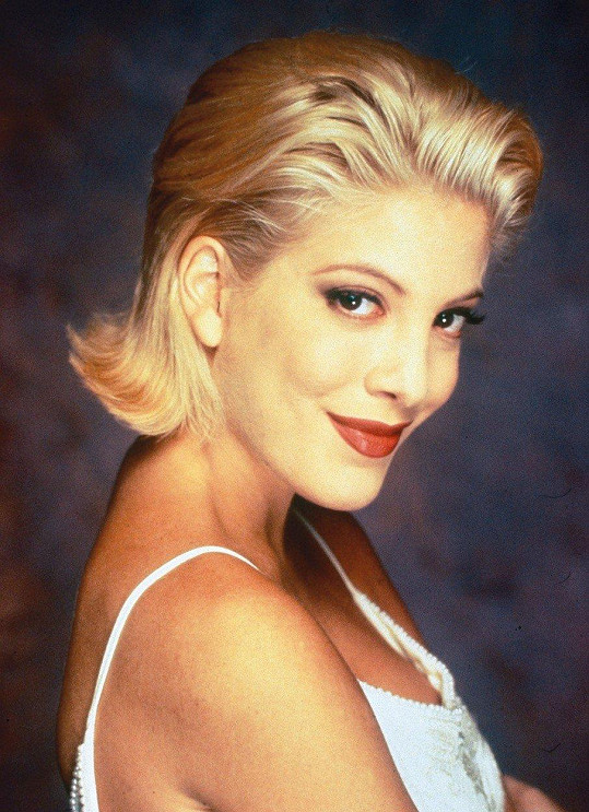 Jako Donna z Beverly Hills byla na vrcholu kariéry.
