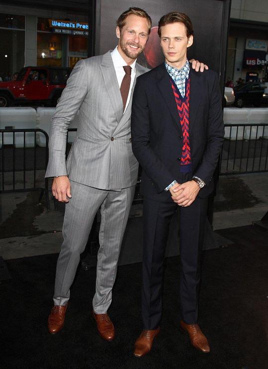 Bill se svým starším bratrem Alexanderem.