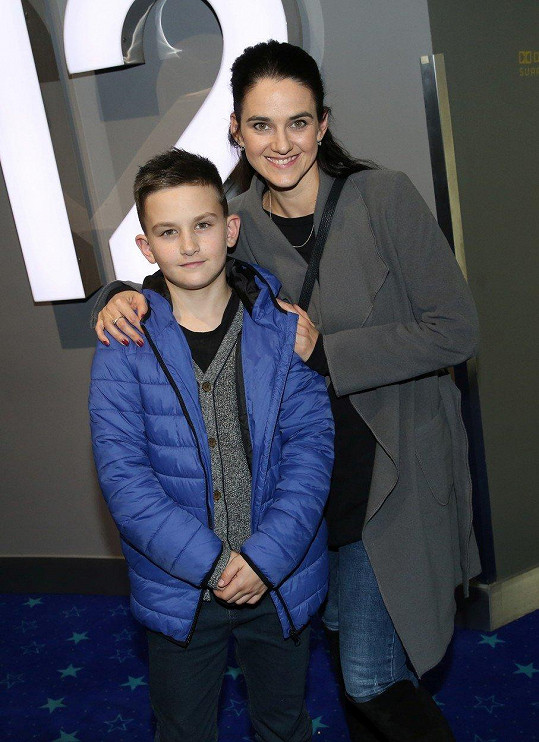 Libuše Vojtková zašla se synem do kina.