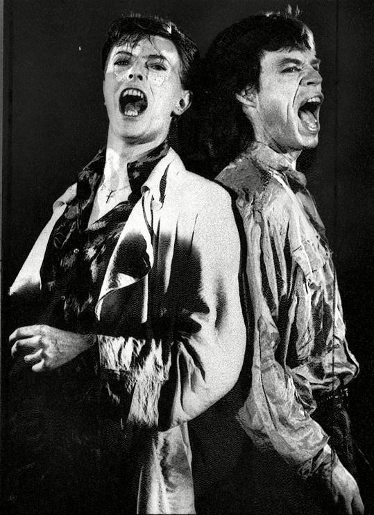 David Bowie a Mick Jagger k sobě měli hodně blízko.