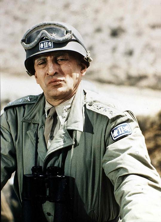 George C. Scott zase za hlavní roli ve filmu Generál Patton.