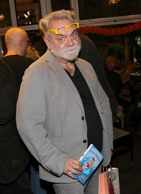 Václav Upír Krejčí musel na operaci.