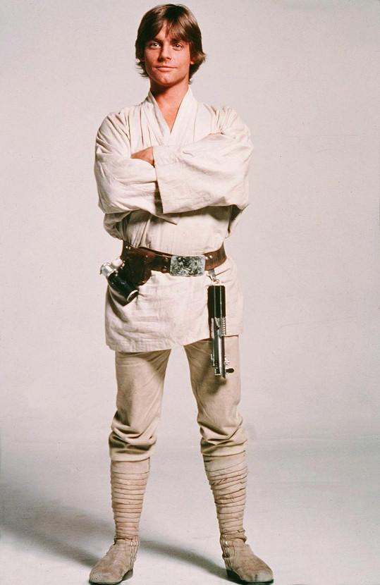Mark Hamill jako Luke Skywalker.