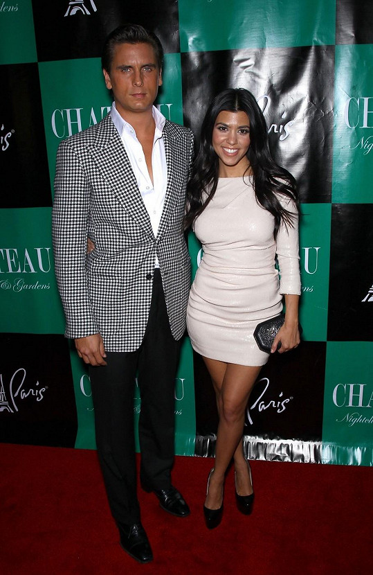 Kourtney Kardashian a Scott Disick