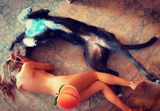 Heidi Klum se nechala vyfotit nahá.