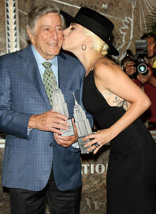 S Lady Gaga v roce 2014 natočili společnou jazzovou desku Cheek to Cheek.