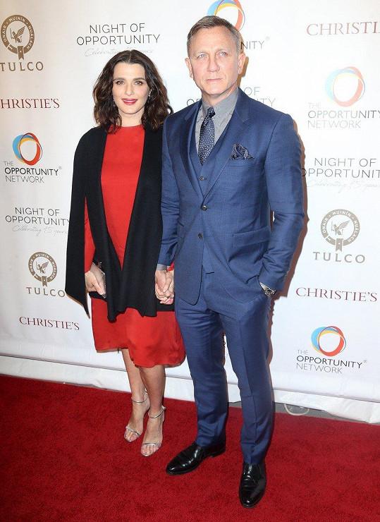 Jejím manželem je Daniel Craig.