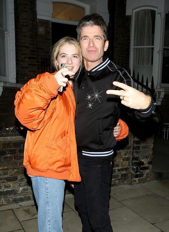 Anaïs s otcem Noelem Gallagherem