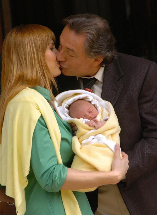 Po narození dcery Charlottky