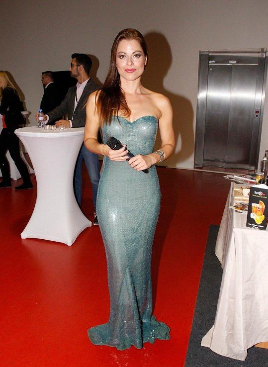 Hana Holišová byla na zahájení Veletrhu hodně sexy.