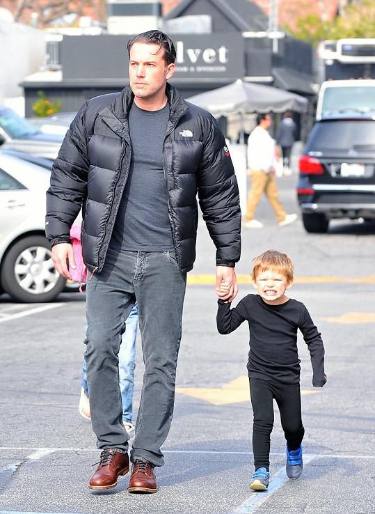 Ben Affleck se svým synem