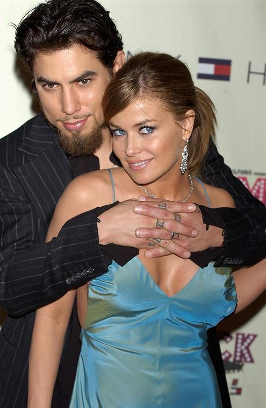 Carmen s Davem na snímku z roku 2004, kdy byli ještě manželi.