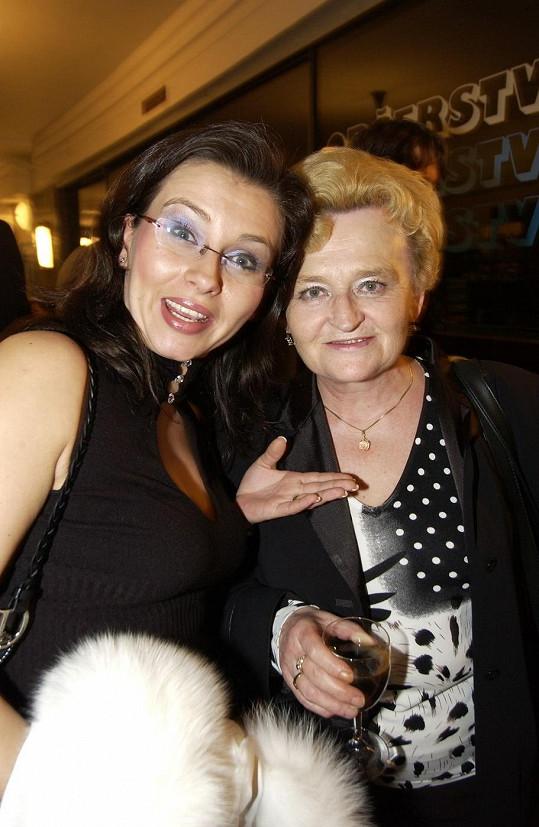Dana Morávková měla s maminkou krásný vztah.