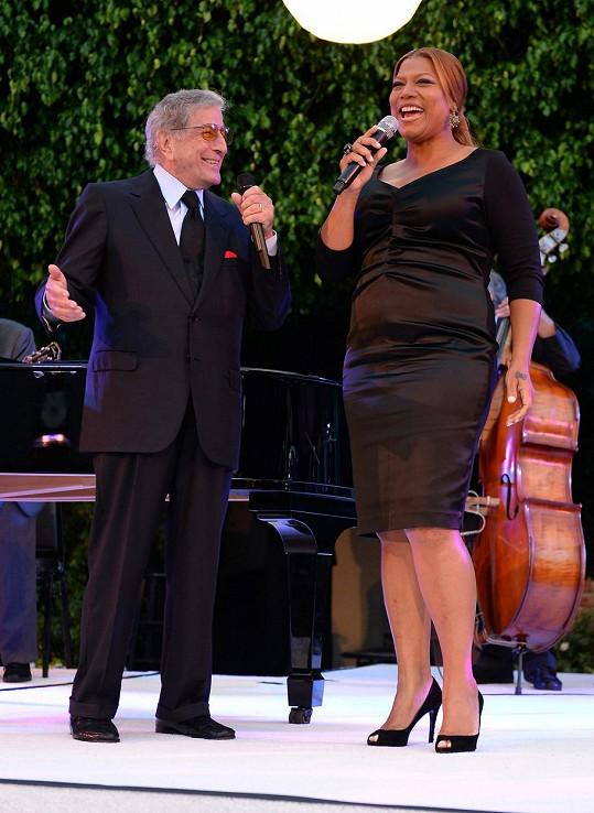 Tony Bennett a Queen Latifah