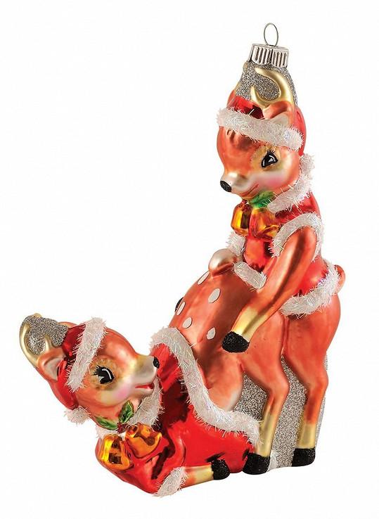 Zvířátka slaví Vánoce po svém...