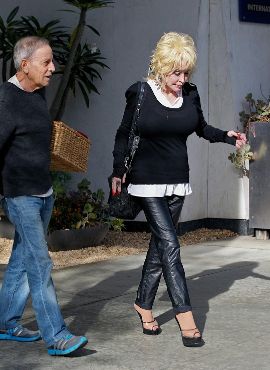 Dolly s manželem Carlem Deanem
