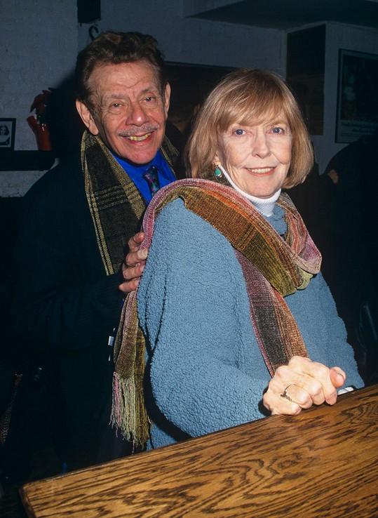 Jerry Stiller a Anne Meara tvořili v 60. a 70. letech slavné komediální duo. Po 62 letech vztahu je rozdělila až hereččina smrt.