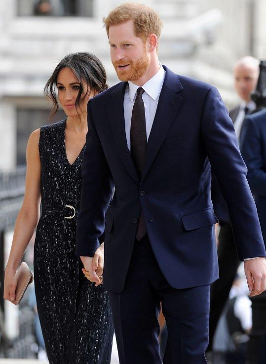 Harry se s Meghan ožení už 19. května.
