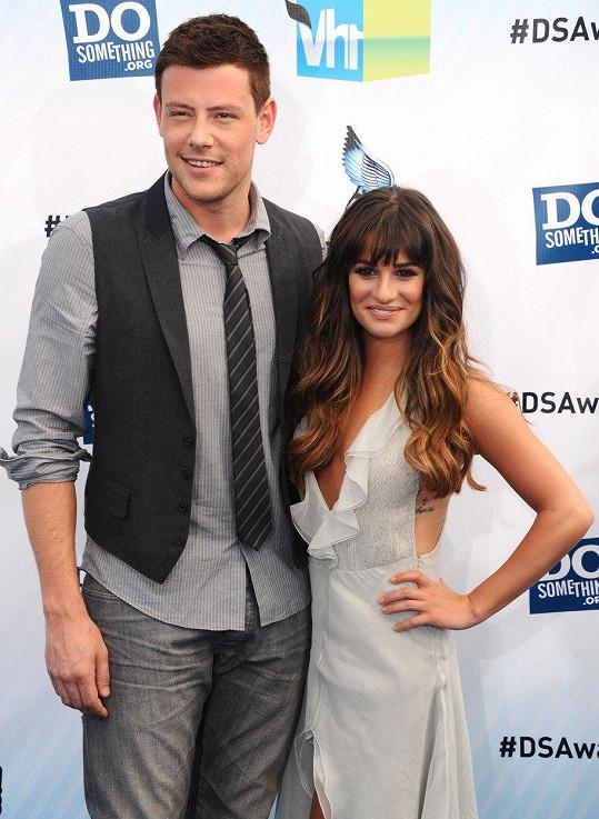 Mezi lety 2011 - 2013 Michele chodila s hereckým kolegou z Glee Corym Monteithem.