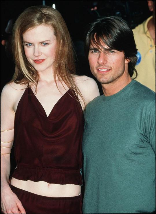 Tom a Nicole tvořili manželský pár v letech 1990 - 2001.