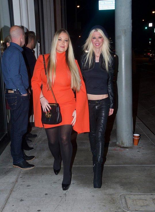 Tara Reid se sestrou Colleen v LA