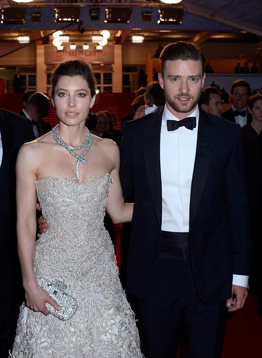 Justin Timberlake a Jessica Biel