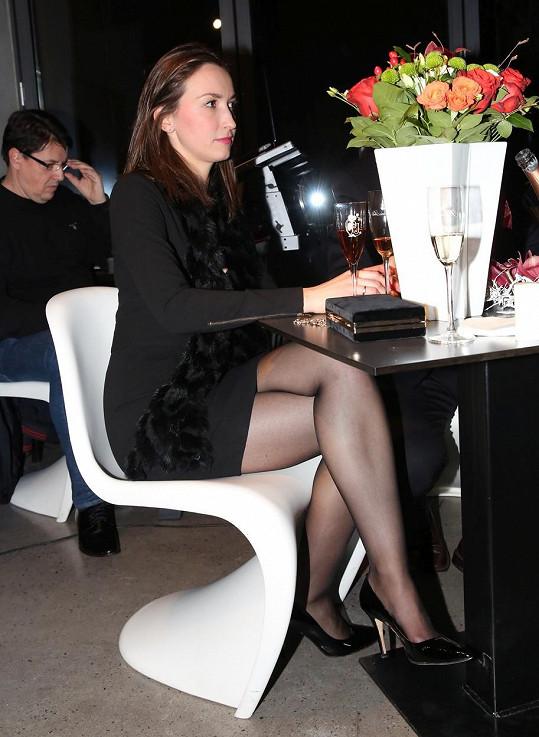 Lucie Gelemová ukázala sexy nožky.